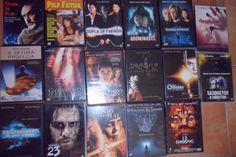 DVDs vários originais como novos Filmes originais na capa como novos - APENAS os que estão na LISTA porque as imagens podem estar desactualizadas. ATENÇÃO: -O valor total do lote é de €300 -...