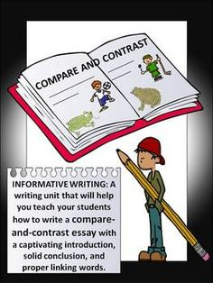 How can i write a 4-5 page essay on compare & contrast?