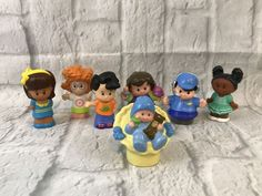 Lot Of 7 Fisher Price Little People Figures Collectible Gift   | eBay