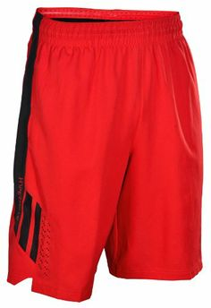 #Nike Men's Dri-Fit Hyper Elite Basketball Shorts-Red/White $47.98