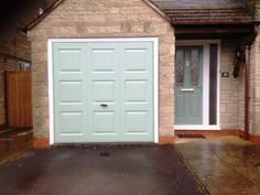 Chartwell Green Up and Over with matching composite front door