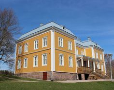 Luukki Manor (Espoo, Finland). Owned by the city of Helsinki, but located in the city of Espoo.