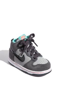 Nike 'Dunk High' Sneaker (Baby, Walker & Toddler) available at Nordstrom