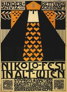 Nelly Marmorek. Plakat, 1902 [source - via]