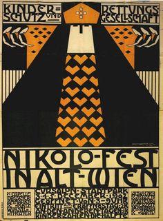 Name: Nelly Marmorek, Nikolo-Fest, 1902 Creator: Austrian Posters  Date: N/A  Site Link:  http://www.austrianposters.at/2016/11/18/juedische-gebrauchsgrafikerinnen-in-wien/