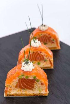 Terrine de saumon et thon