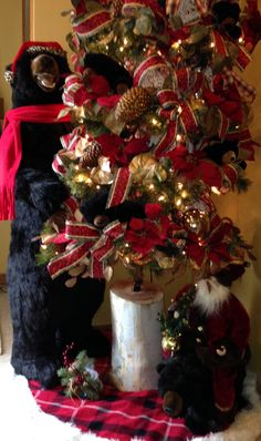 59 best Black bear christmas images on Pinterest in 2018 | Rustic ...