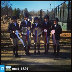 Congratulations to the Caz College Equestrian Team and the 2014 Zones riders! #Top5