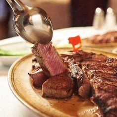 Steak for Sundays - served sizzling hot at 👌🏻 Hope you're enjoying the rest of your weekend. Resorts World Manila, Steak, Sunday, Rest, Food, Domingo, Essen, Steaks, Meals