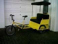 Manufacturer of pedicabs Stationary, Bicycle, Motorcycle, Vehicles, Bicycle Kick, Bike, Bicycling, Cars, Motorcycles