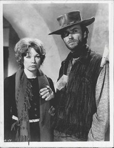 Shirley MacLaine and Clint Eastwood in Two Mules for Sister Sara 1970