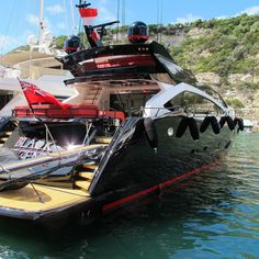 BLACK LEGEND 97.77ft (29.8m)  Builder: Sunseeker Bonifacio - 14/07/15 by yachts_la_ciotat
