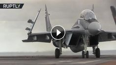 RAW: Footage of Russian aircraft carrier battle group: Russian aircraft carrier the Admiral Kuznetsov will join the country's naval group…