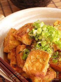 食指大動%Food-Funs: [食譜] 夏日好食「日式炸豆腐(Agedashi Tofu)」清爽不油膩!