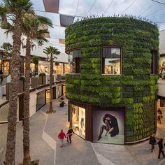Carrefour Holea Centre, Spain #greenwall #verticalgarden #design