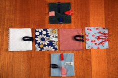 Taggie cube tutorial to sew for baby