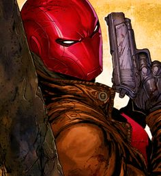 Red Hood in Deathstroke #17 - Tyler Kirkham