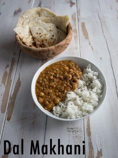 #vegan Dal Makhani - indian dish with creamy  lentils