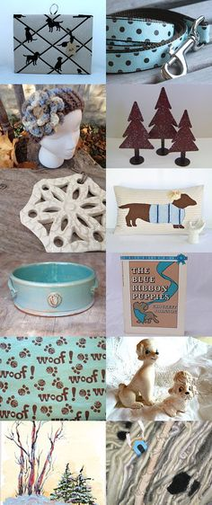 Walking (the dog) in a Winter Wonderland ~ atcttchallenge56 by Sharon Kaye on Etsy--Pinned with TreasuryPin.com