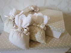 Hermosas bolsitas de tela para obsequios - Dale Detalles