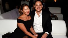Gleealum Jenna Ushkowitz is engaged to be married.  The 34-year-old actress and singer got engaged to her boyfriend, David Stanley, over the weekend...