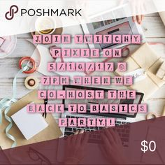 We're Co-Hosting a Posh Party! Join us at 7pm on 5/10 when we cohost our first Posh party! Tag your store below & we'll raid your closet for host picks 💗 Other