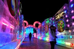Harbin Ice and Snow Festival | Atlas Obscura