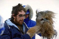 Peter Mayhew as Chewbacca - 45 Behind The Scenes Photos That You've Probably Never Seen Before