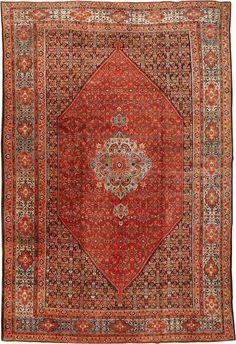 Antique Bidjar Persian Rug #42158  http://nazmiyalantiquerugs.com/antique-rugs/bidjar/