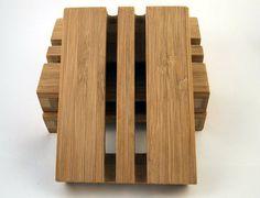 Bamboo Soap Dish  Handmade by FlatlandersSoapCo on Etsy, $15.00