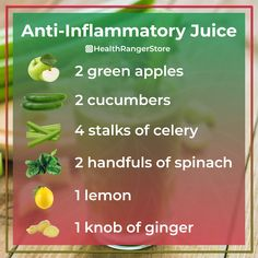 Healthy Juice Recipes 52495151894116884 - Deliciously healthy anti-inflammatory juice Source by mrsvicka Juice Cleanse Recipes, Detox Juice Cleanse, Healthy Juice Recipes, Juicer Recipes, Healthy Detox, Healthy Juices, Detox Juices, Liver Detox, Detox Recipes