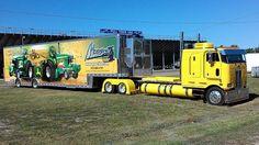 Mowrey's hauler Show Trucks, Big Rig Trucks, Old Trucks, Fire Trucks, Custom Big Rigs, Custom Trucks, Volvo, Bagged Trucks, Train Truck
