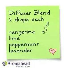 Diffuser blend http://www.mydoterra.com/renitafullam/ doTERRA essential oils