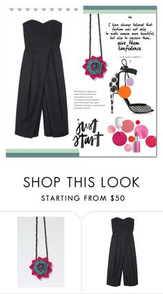 """98"" by christinmalvin ❤ liked on Polyvore featuring Clinique, TIBI and Pierre Hardy"