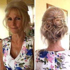updos for older women - Google Search