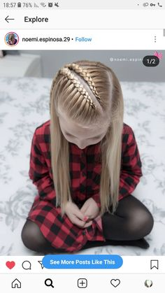 160 Braids Hairstyle Ideas for Little Kids - hairstyles_pinterey