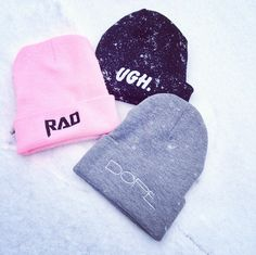 Let it snow! Stay warm with a Steve Madden beanie
