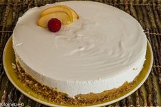 Cheesecake Leger, Cheesecakes, Pie, Courge Spaghetti, Food, Quiche, Apple Cheesecake, Torte, Cake