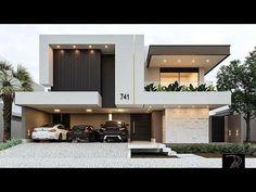 Top modern house designs ever built! Best Modern House Design, Modern Exterior House Designs, Modern Minimalist House, Modern House Facades, Bungalow House Design, House Front Design, Modern Architecture House, Modern House Plans, Luxury Modern House