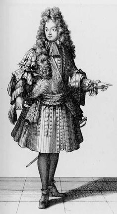 Gentleman, 1695. French 1695_1.jpg (327×600)