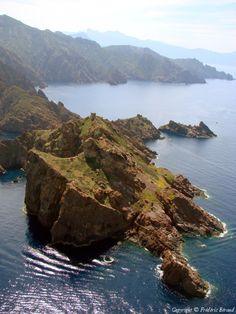 Photo aérienne de Ile de Cargali - Haute-Corse (2B)