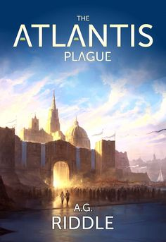New cover artwork for The Atlantis Plague novel by A. Riddle, part of a trilogy for which I've had the pleasure to do some illustrations. There's a lo. The Atlantis Plague - cover artwork Fantasy Places, Sci Fi Fantasy, Fantasy World, Fantasy Series, Best Sci Fi Books, Science Fiction Books, Fantasy Setting, Mystery Thriller, Thriller Books