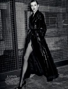 Stella Maxwell by Giampaolo Sgura for Vogue Germany August 2016 - Lanvin