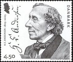 Hans Christian Andersen stamp.    As a child my parents read me all his books. I loved it.