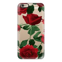iPhone 6 Plus/6/5/5s/5c Case - Roses roses large transparent ($40) ❤ liked on Polyvore featuring accessories, tech accessories, iphone case, iphone cases, iphone cover case, apple iphone cases, slim iphone case and transparent iphone case