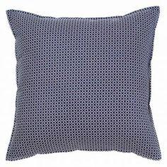 Designers Choice Mercer Square Cushion, Purple | Zanui.com.au