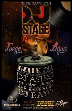 Este 1 de Mayo  Pasagüero presenta:  DJ Stage con Aztek 732, DJ Astro, Los Alan Anaya, DJ Boxxer, DJ Rayo.  Entrada libre 9:00pm Motolinia 33, Col. Centro Histórico, 06010 México, D. F.