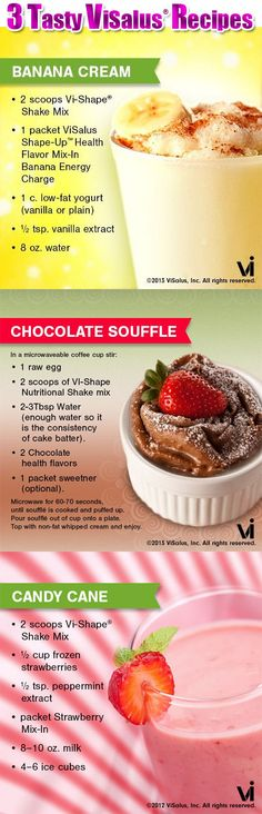 Image detail for -Tasty ViSalus Recipes | ViSalus Body by Vi™ News and Updates