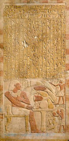 ~Stela of the Steward Mentuwoser.  Period: Middle Kingdom  Dynasty: Dynasty 12  Reign: reign of Senwosret I, year 17  Date: ca. 1944 B.C.  Geography: From Egypt, Northern Upper Egypt, Abydos  Medium: Limestone, paint