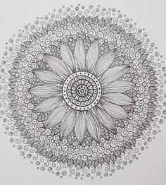 ZEN Mandalas Coloring Book Zen Tangle style Art by ChubbyMermaid